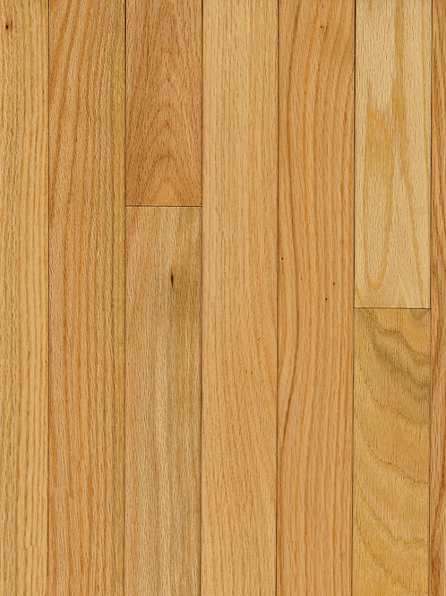 RED OAK - NATURAL 3 1/4 in. Solid Hardwood Plank C1210