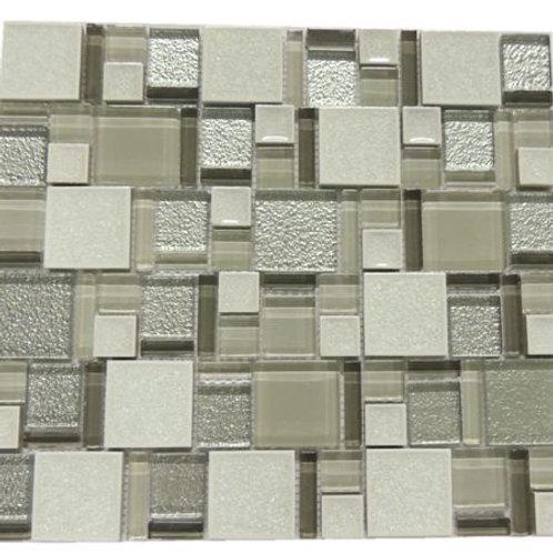 Ceramics Ice Crackle Series Mosaic Tile C01