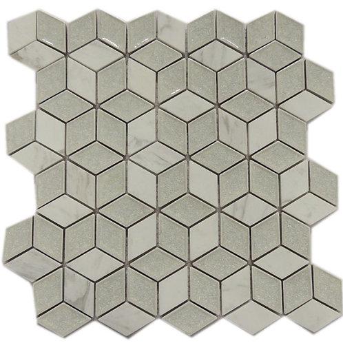 Ceramics Ice Crackle Series Mosaic Tile C02