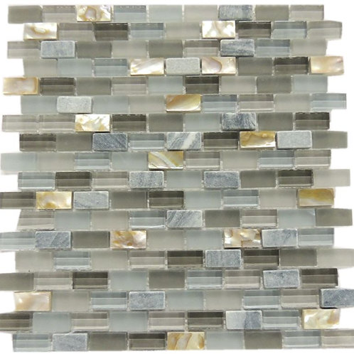 Glass  Shell Stone Mosaic Tile G14