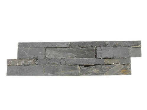 Black  Quartzite Ledger Stone Wall Panels N018B