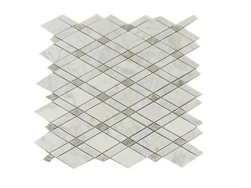 Stone Mosaic Bianco Carra Cashmere S1500