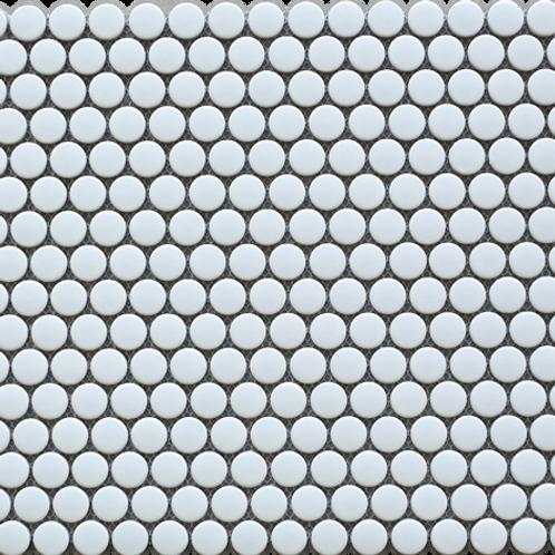 BT-PM01 White tiny dot porcelain mosaic