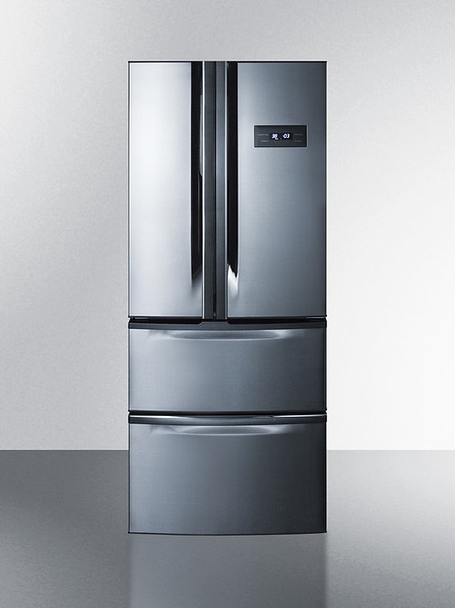 "27"" Wide French Door Refrigerator-Freezer"