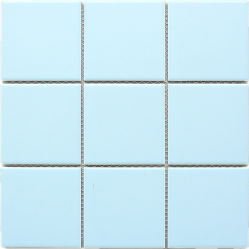 BT-PM11 4x4 blue porcelain mosaic (Matt)
