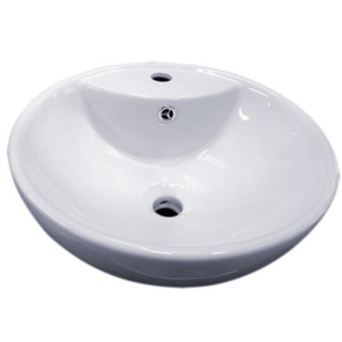 Sinks Topmount Ceramic Lavatory 003 01B