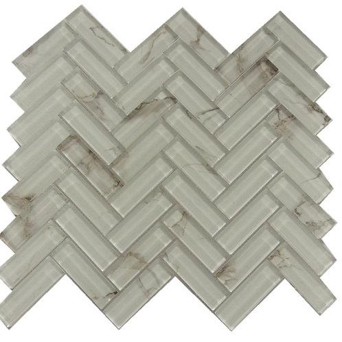 Glass Ink Jet  Mosaic Tile JI03