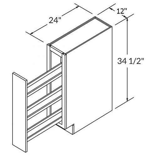 Spice Rack Pull Out Cabinets