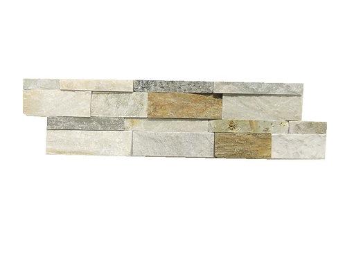 White Quartzite Ledger Stone Wall Panels N01413