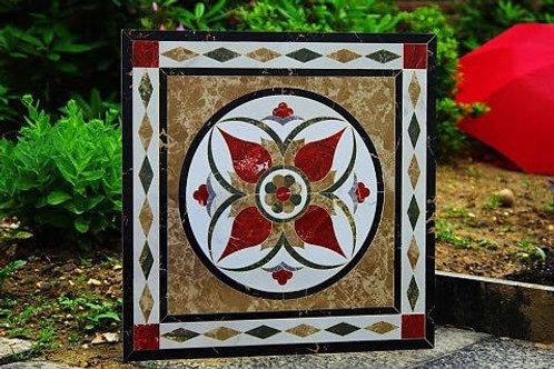 Polished crystal ceramic designs floor tile M95