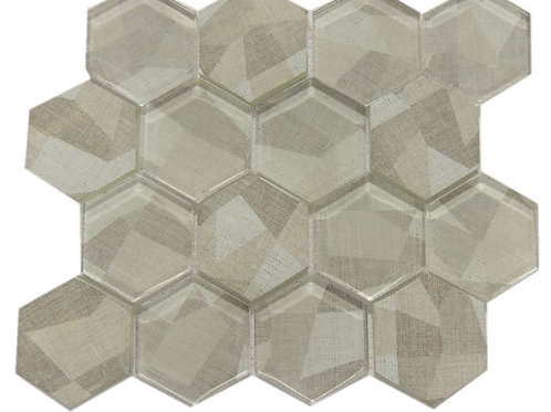 Glass Ink Jet  Mosaic Tile JI06