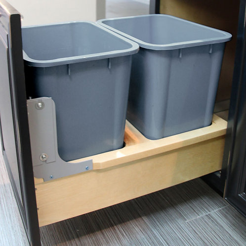 Double Waste Bins Pullout B21