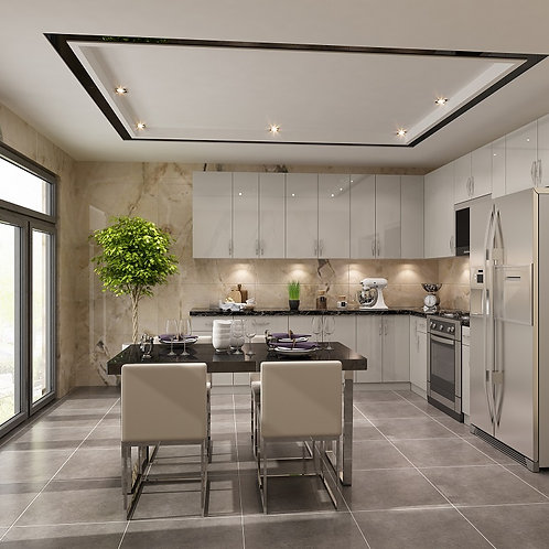 Modern Kitchen Cabiet Door Style