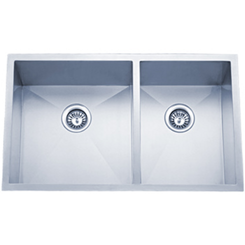 Undermount Kitchen Sinks Handcrafted Series 18ga 6002 3320T