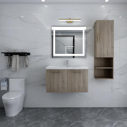 "24"" Wall Mount Modern Bathroom Vanity"