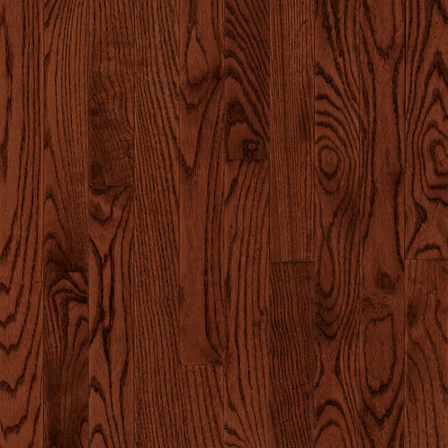 RED OAK - CHERRY 3 1/4 in. Solid Hardwood Plank C1218