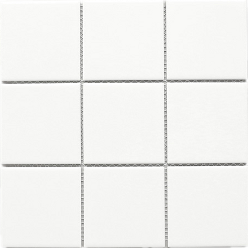 BT-PM09 4 x 4 White Porcelain (Matt)