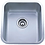 Thumbnail: Undermount Single Bowl Sink 6001-1618/6001-1618T