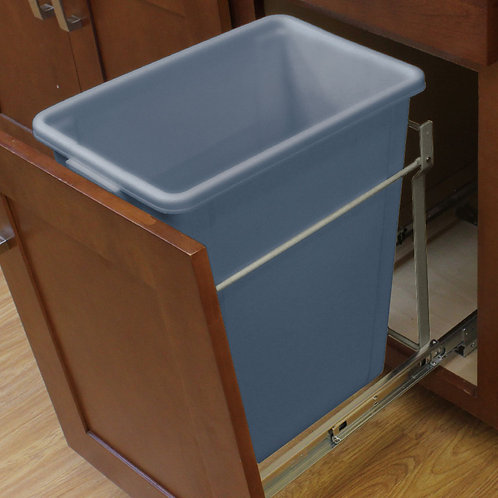Single Pullout Waste Basket for B15