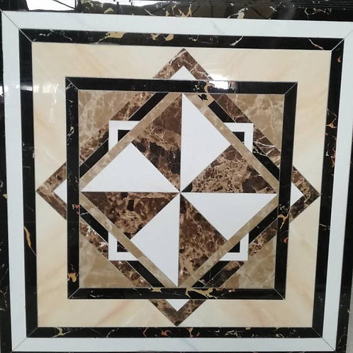 Polished crystal ceramic designs floor tile M6