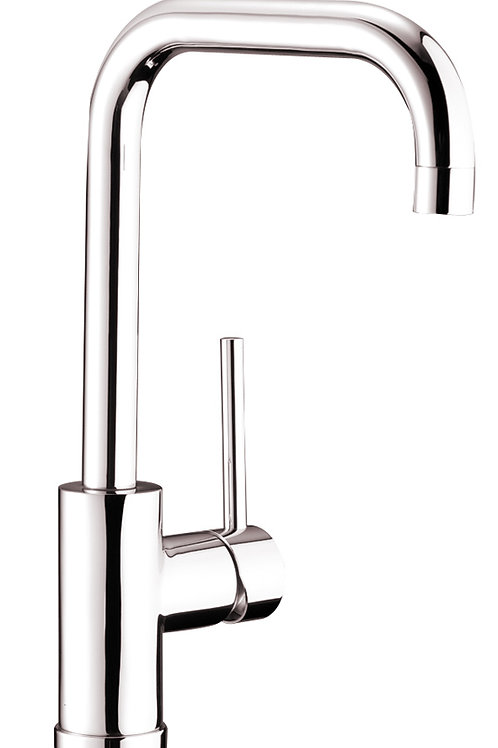 Single Handle Kitchen Faucet  Brushed Nicke 8002 008 01