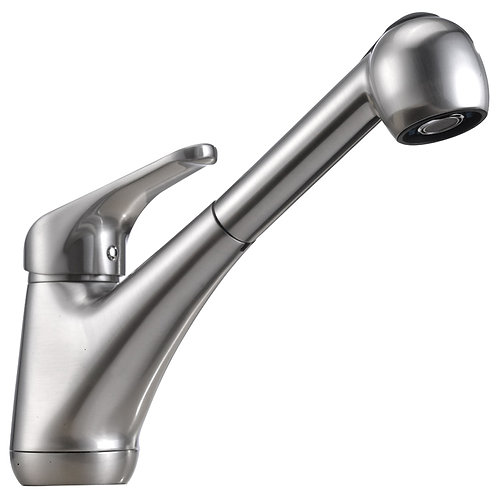 Single Handle Kitchen Faucet  Brushed Nicke 8002 009 02