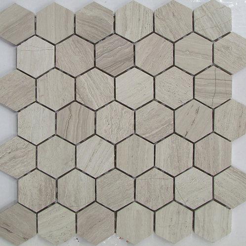 Stone Mosaic  Wood Grey S0200