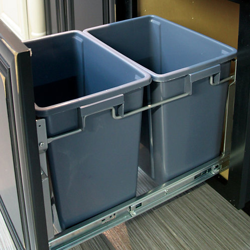 Double Waste Basket Pullout 40020218H