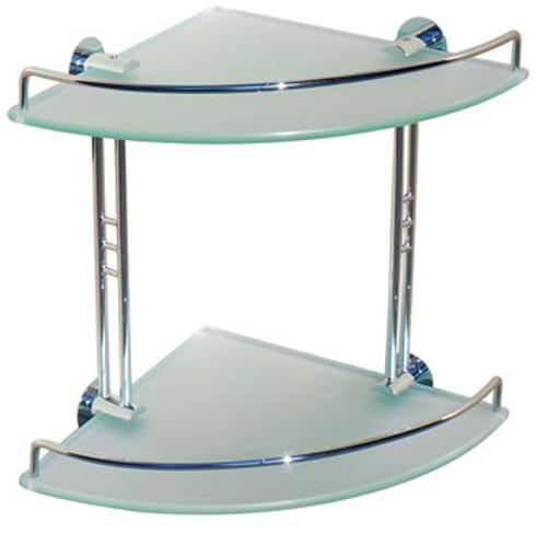 Double Corner Glass Shelf 2001 001 02