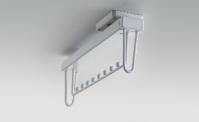 Steel shoe shelf (WS4126S.060)