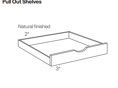 Pull Out Shelves-POS