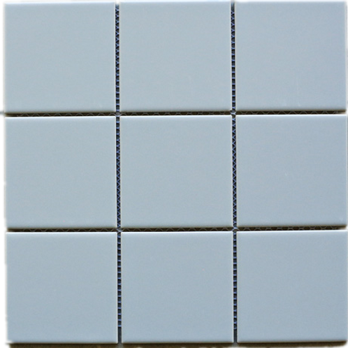 BT-PM12 4x4 light grey porcelain mosaic (Matt)