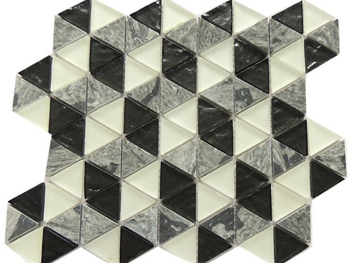 Cool spray Glass stone Mosaic Tile G04