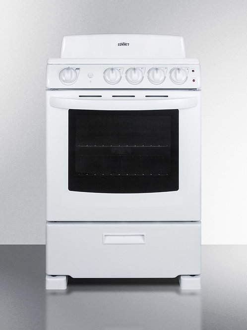 Summit Electric Ranges RE2411W