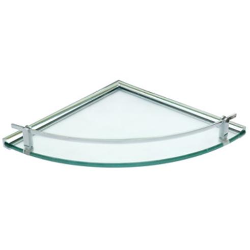 Single Corner Glass Shelf 2008 001 01
