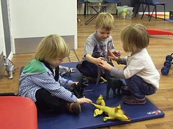 Toddlers web on the mat.jpg