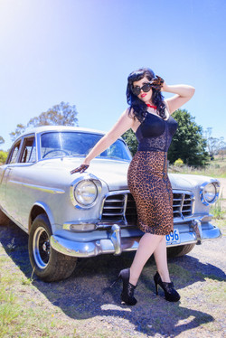 pinup girl photography makeover