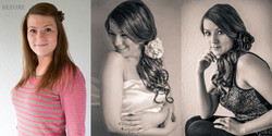 before after Canberra glamour beauty makeover photography boudoir-7