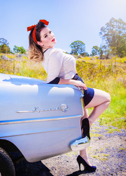 pinup photography canberra vintage