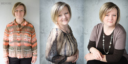 before after Canberra glamour beauty makeover photography boudoir-8