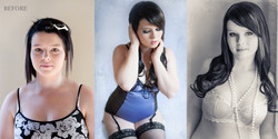 before after Canberra glamour beauty makeover photography boudoir-5