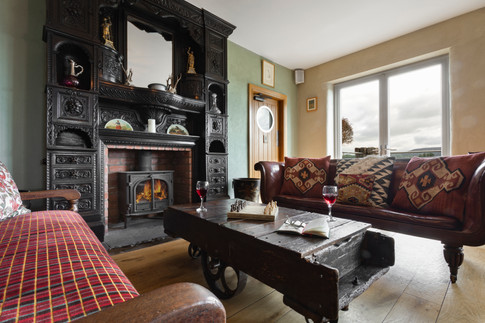 Lyth Valley Country House Snug Interior