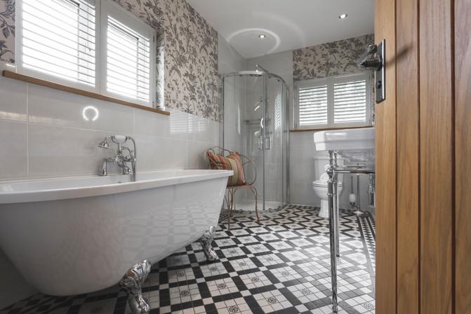 Lyth Valley Country House Bathroom Interior