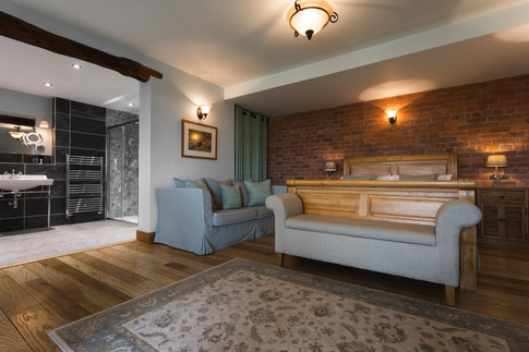 Lyth Valley Country House Bedroom Interior