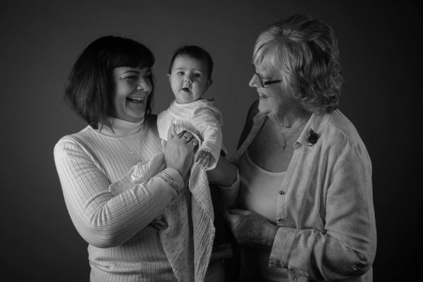 Family Portrait B&W