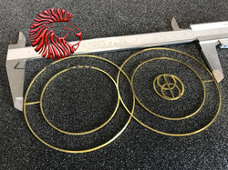 decoupe laser bijoux cut jewel laiton copper brass