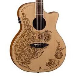 laserlux découpe gravure sur guitare