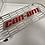 Thumbnail: Grille ryker longue alveole avec écriture can-am et plexiglass couleur