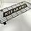 Thumbnail: Personnalisé  votre grille ryke longue  alvéoles et plexiglass couleur