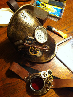 Steampunk rustning- bare for sjov.